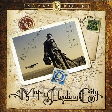 Thomas Dolby MAP OF THE FLOATING CITY CD