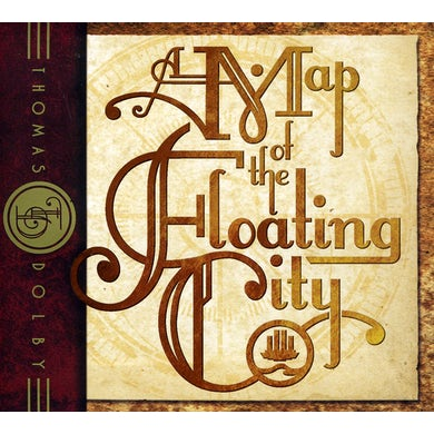 Thomas Dolby MAP OF THE FLOATIN CITY CD