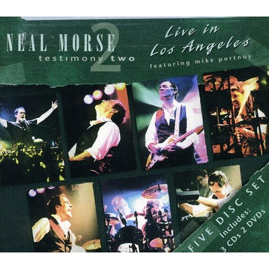 Neal Morse TESTIMONY TWO: LIVE IN LOS ANGELES CD
