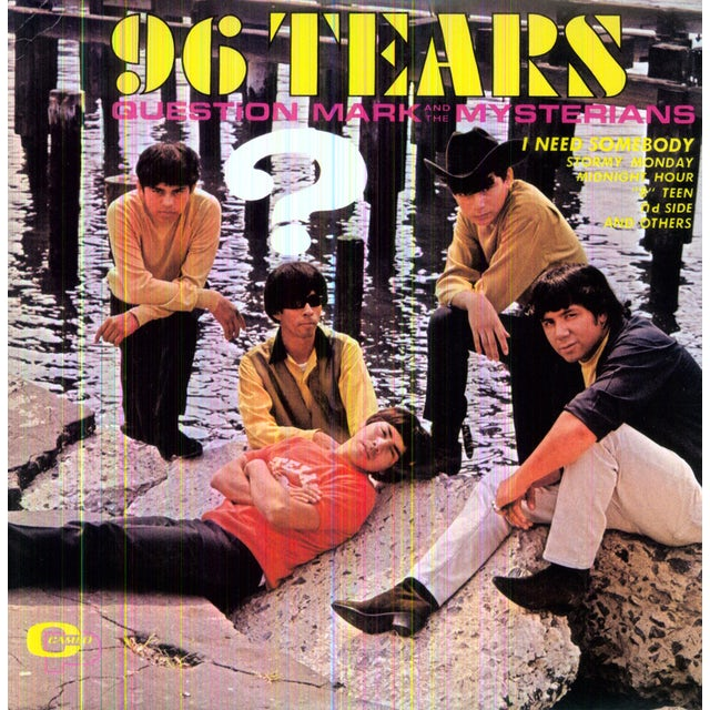 Question Mark & Mysterians 96 TEARS Vinyl Record