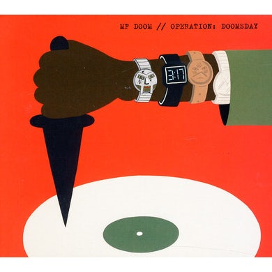 MF DOOM OPERATION DOOMSDAY CD