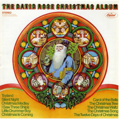 David Rose CHRISTMAS ALBUM CD