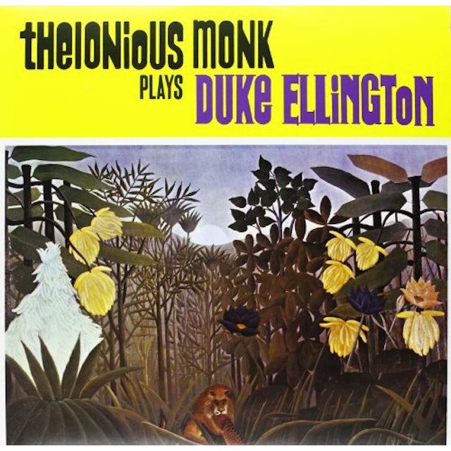 Thelonious Monk PLAYS DUKE ELLINGTON Vinyl Record