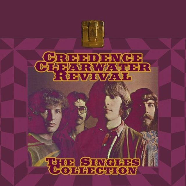 Creedence Clearwater Revival SINGLES COLLECTION Vinyl Record