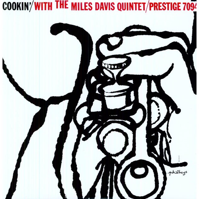 COOKIN WITH THE MILES DAVIS QUINTET Vinyl Record