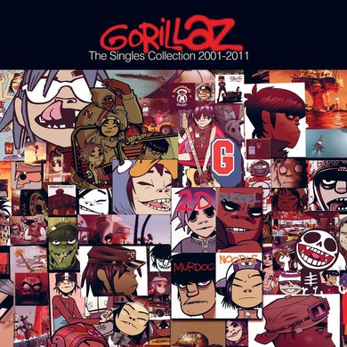 Gorillaz SINGLES COLLECTION 2001-2011 CD