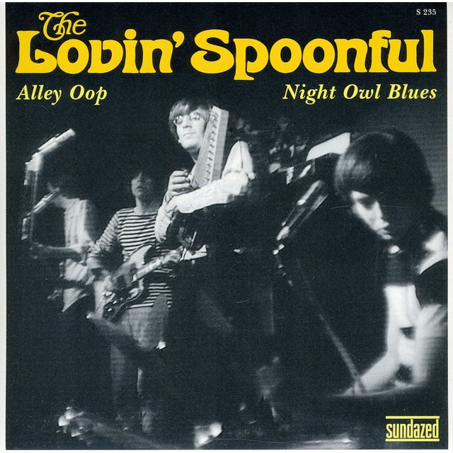The Lovin' Spoonful ALLEY OOP / NIGHT OWL BLUES Vinyl Record