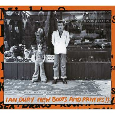 Ian Dury NEW BOOTS & THE PANTIES CD