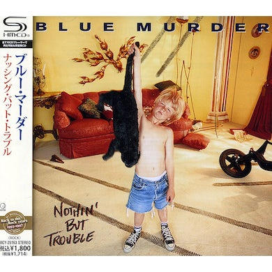 Blue Murder NOTHING BUT TROUBLE CD