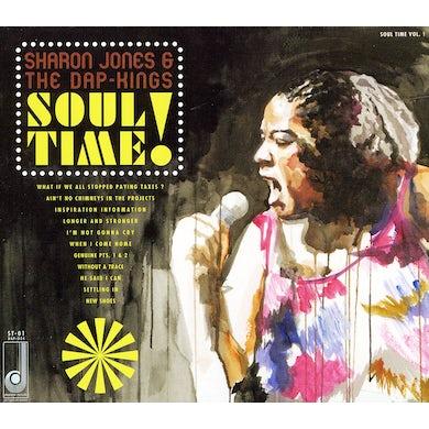 Sharon Jones SOUL TIME CD