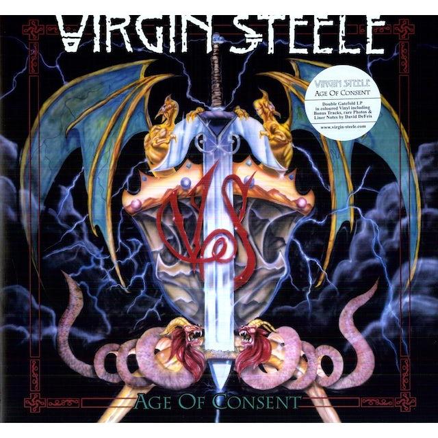 Virgin Steele AGE OF CONSENT Vinyl Record