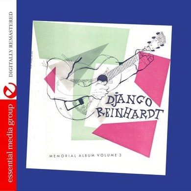 Django Reinhardt MEMORIAL ALBUM VOLUME 3 CD