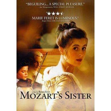 MOZART'S SISTER DVD