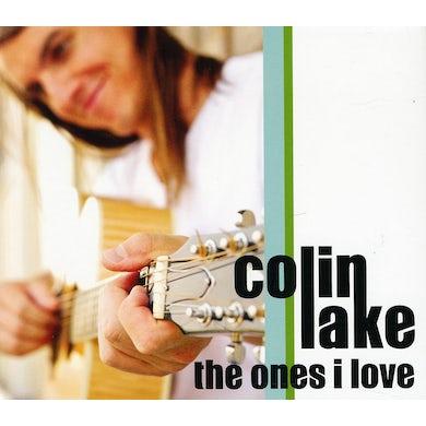 Colin Lake ONES I LOVE CD