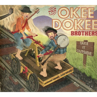 Okee Dokee Brothers TAKE IT OUTSIDE CD