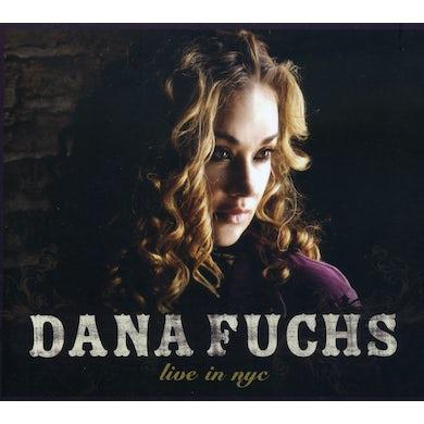 Dana Fuchs LIVE IN NYC CD