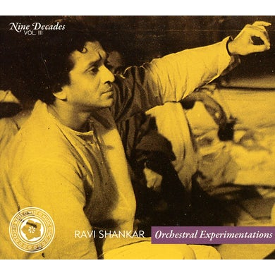 Ravi Shankar NINE DECADES 3 CD