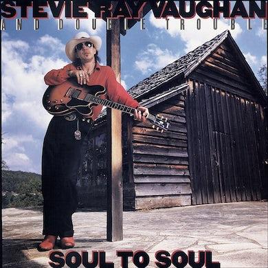 Stevie Ray Vaughan SOUL TO SOUL CD