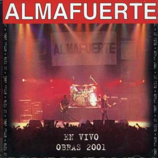 Almafuerte EN VIVO: OBRAS 2001 CD