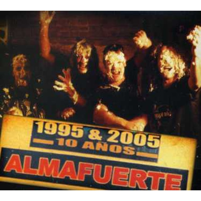 Almafuerte 10 ANOS CD
