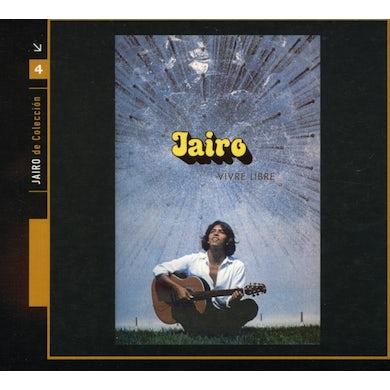 Jairo VIVRE LIBRE LES JARDINS CD