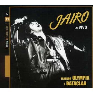 Jairo EN VIVO OLIMPIA Y BATACLAN CD