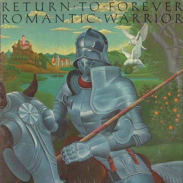 Return To Forever ROMANTIC WARRIOR Vinyl Record