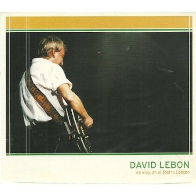 David Lebon EN VIVO EN EL COLISEO CD