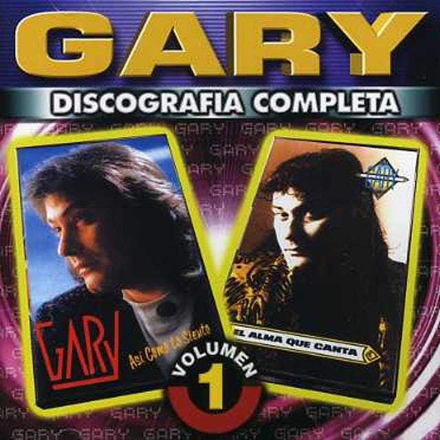 Gary DISCOGRAFIA COMPLETA 1 CD