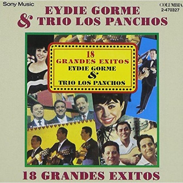 Eydie Gorme Y LOS PANCHOS: 18 GRANDES EXITOS CD