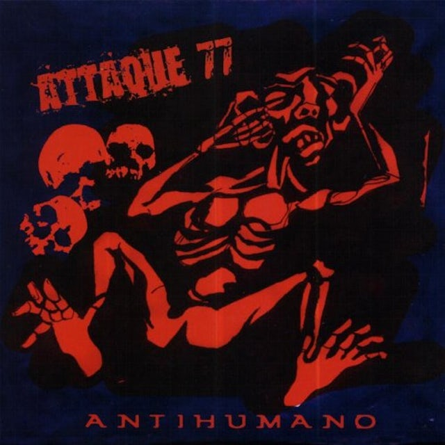 Attaque 77 ANTIHUMANO CD