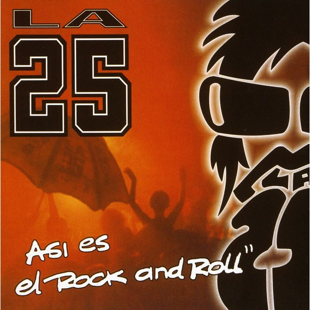 25 ASI ES EL ROCK & ROLL CD