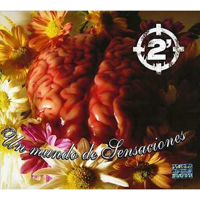 2 Minutos UN MUNDO DE SENSACIONES CD