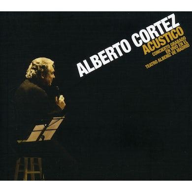 Alberto Cortez ACUSTICO CD