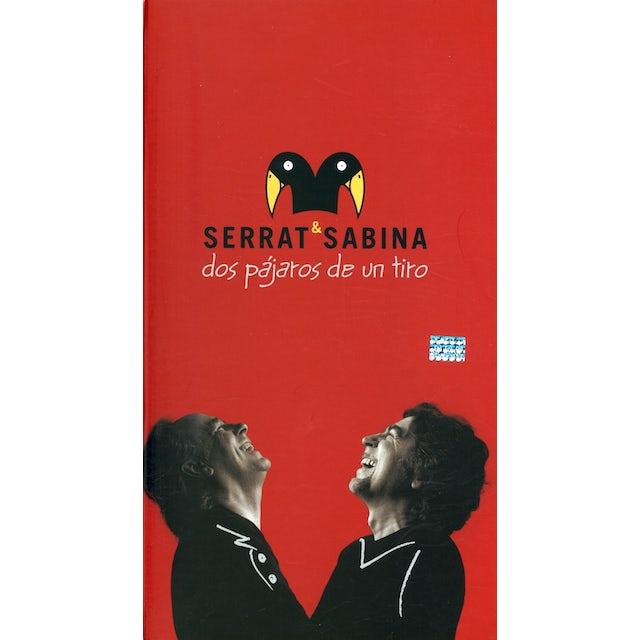 Serrat & Sabina DOS PAJAROS DE UN TIRO CD