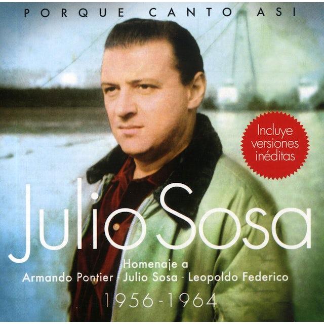 Julio Sosa PORQUE CANTO ASI CD