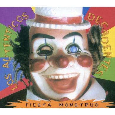 Los Autenticos Decadentes FIESTA MONSTRUO CD