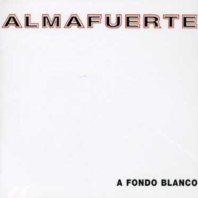 Almafuerte FONDO BLANCO CD