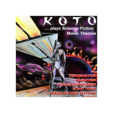 KOTO PLAYS SCIENCE FICTION MOVIE THEMES CD