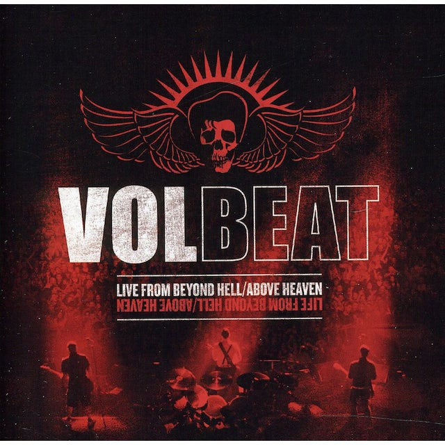 Volbeat LIVE FROM BEYOND HELL / ABOVE HEAVEN CD