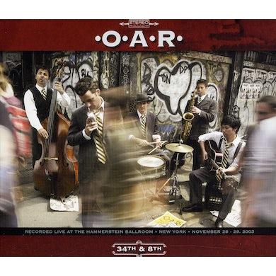 O.A.R. 34TH & 8TH CD