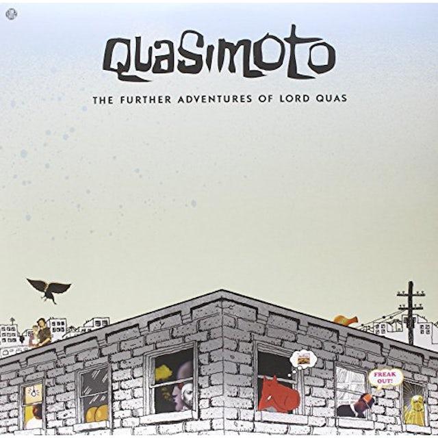 Quasimoto FURTHER ADVENTURES OF LORD QUAS Vinyl Record
