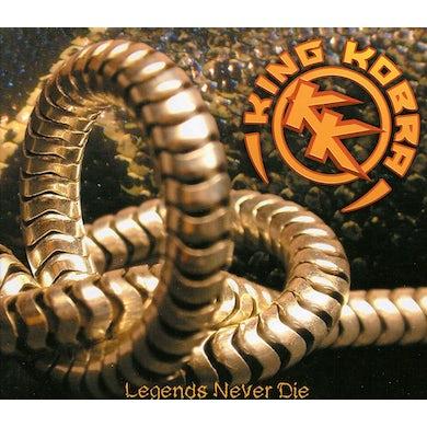 King Kobra LEGEND NEVER DIE CD