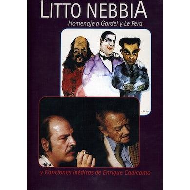 Litto Nebbia HOMENAJE A GARDEL Y LE PERA DVD