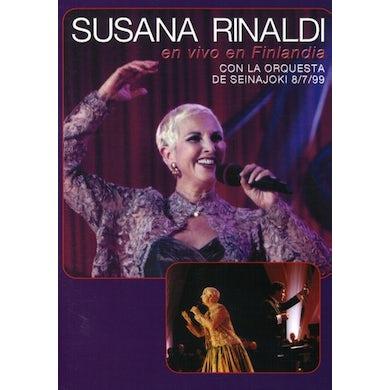 Susana Rinaldi EN VIVO EN FINLANDIA DVD