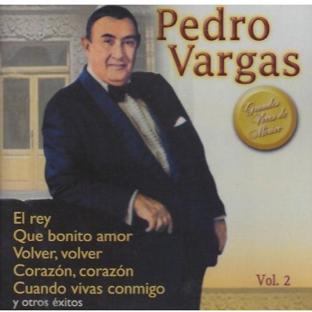 Pedro Vargas GRANDES VOCES DE MEXICO 2 CD
