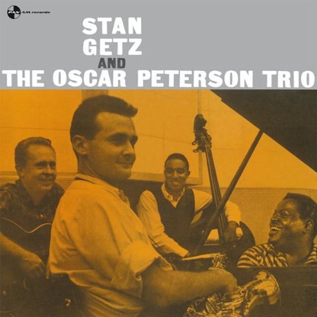 Stan Getz OSCAR PETERSON TRIO Vinyl Record