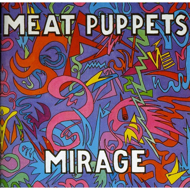 Meat Puppets MIRAGE CD