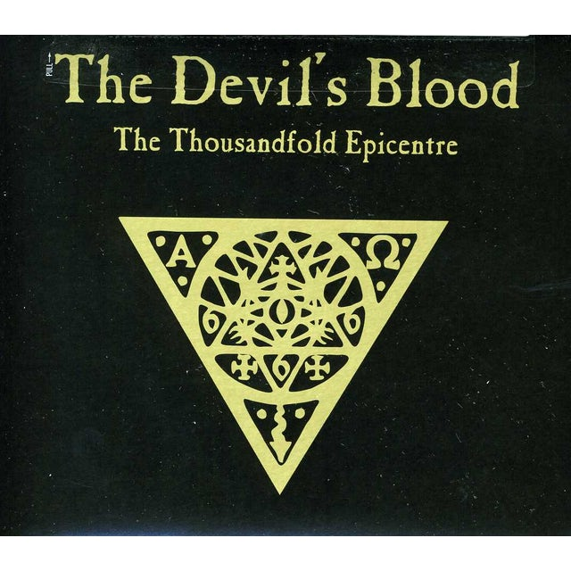 Devil'S Blood THOUSANDFOLD EPICENTRE CD