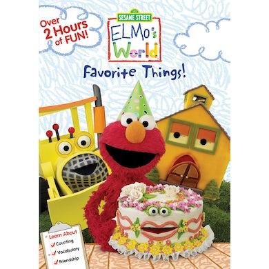 Sesame Street ELMO WORLDS: ELMOS FAVORITE THINGS DVD